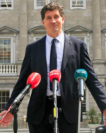 Image of Eamon Ryan Minister for the Environment